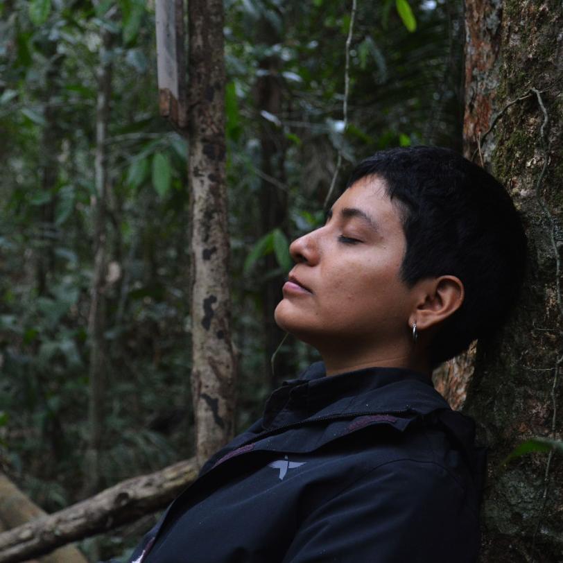 Pierina Tuesta Estudiante de Ingeniería Forestal